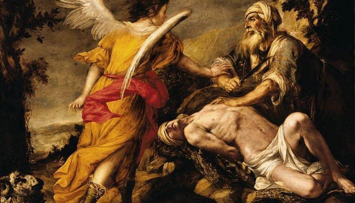 Offrandet av Isak är en förebild till Jesus